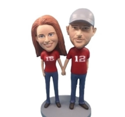 Happy Couple 6 Bobblehead