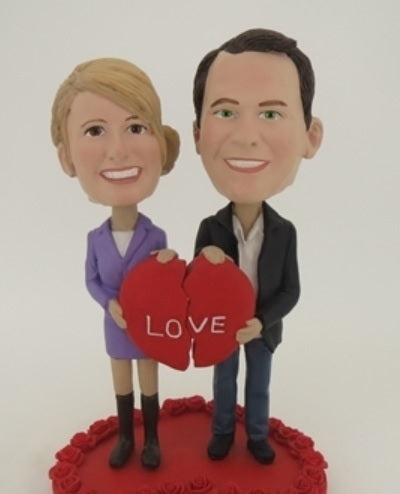 Couple in Love Bobblehead
