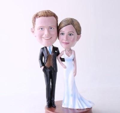 Happy Couple 8 Bobblehead