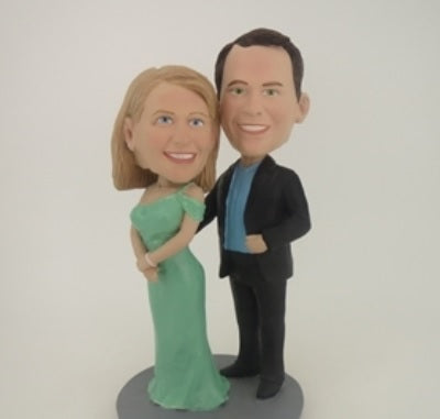 Happy Couple 9 Bobblehead