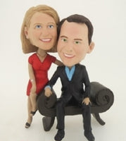 Couples Formal Pose Bobblehead