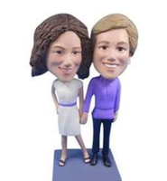 Female Couple Bobblehead