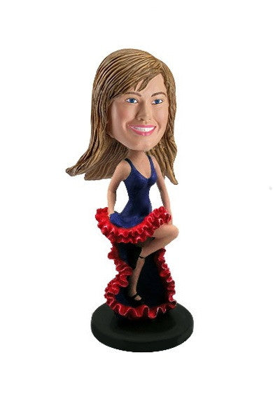 Flamenco Dancer Bobblehead