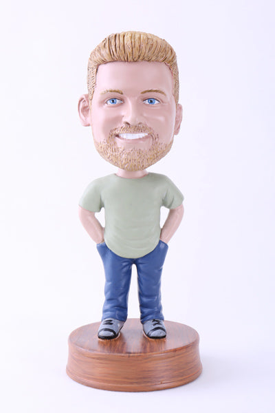 Hands in Pockets Bobblehead