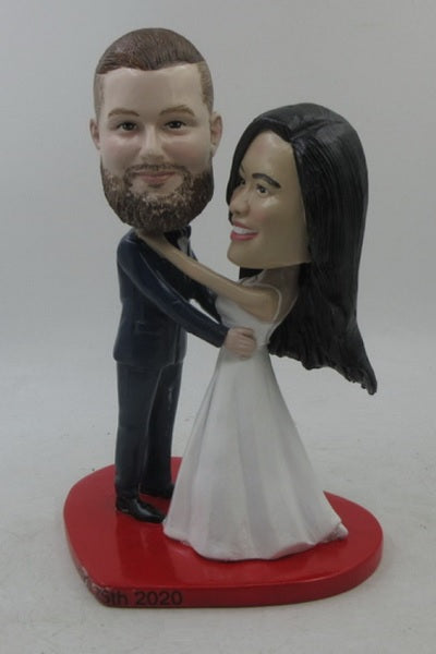 Couple Happy in Love Bobblehead
