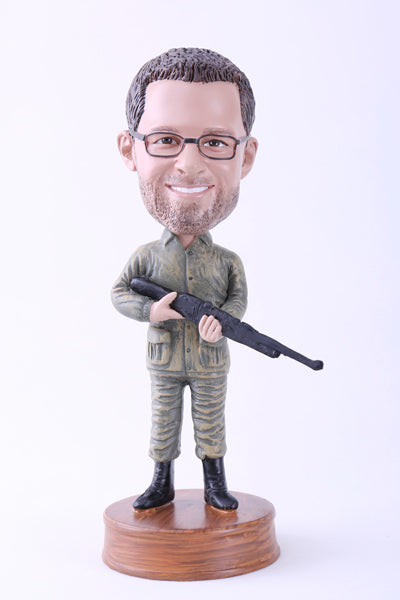 Going Hunting Bobblehead