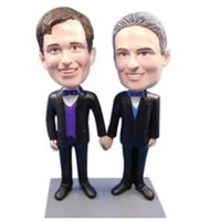 Male Couple 2 Bobblehead