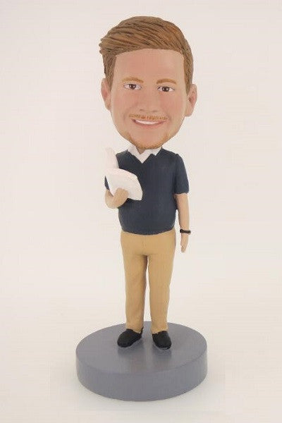 Male Teacher Bobblehead