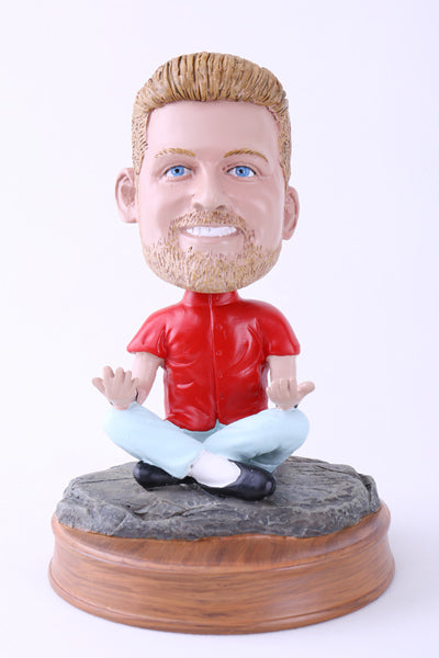 Time to Meditate Bobblehead