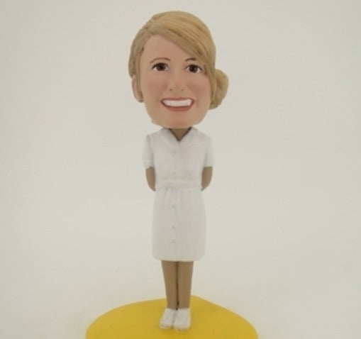 Nurse Bobblehead