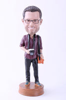 "Photographer Bobblehead (9"" Tall)"