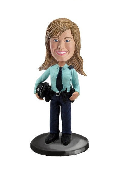 Police Woman Bobblehead