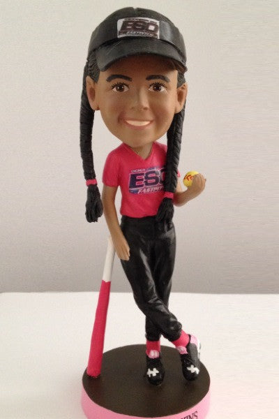 Softball Player Bobblehead