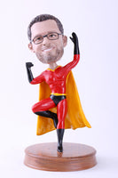 Male Superhero 2 Bobblehead