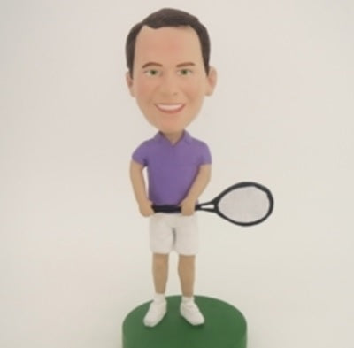 Tennis Player 3 Bobblehead
