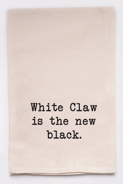 White claw is the new black