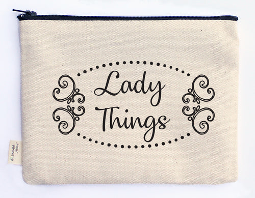 lady things zipper pouch