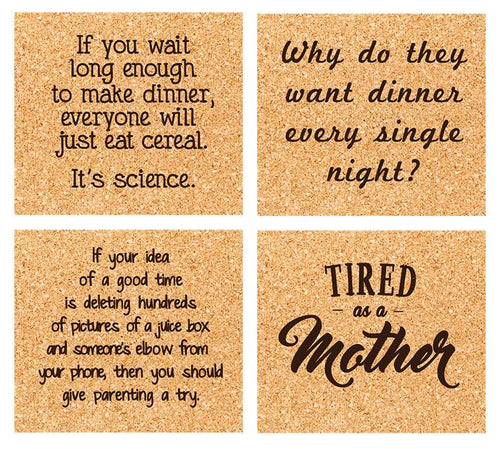 mom life coaster set