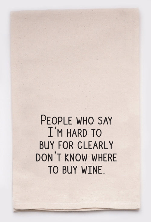 people who say I'm hard to buy for clearly don't know where to buy wine.