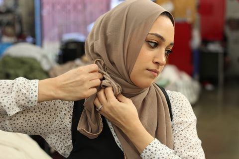 Hijabs made in USA by ethically run factories