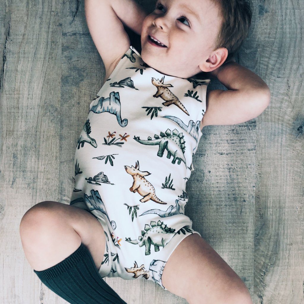 Rawrsome Bloomer Romper
