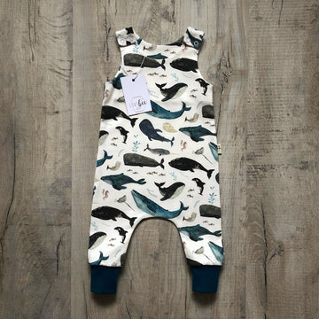 Blue whale's song Romper