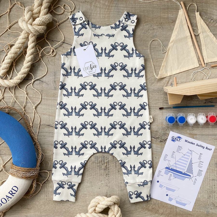 Anchor Romper
