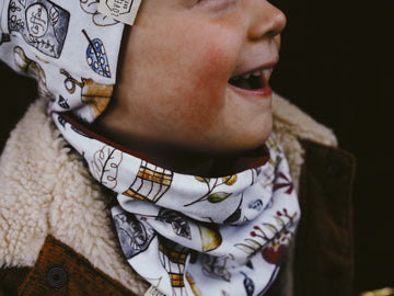Autumn spice Printed Snood