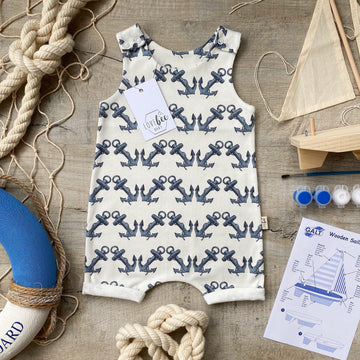 Anchor Short Romper