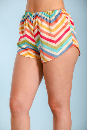 Leave Your Mark Pajama Shorts - Shorts - Wight Elephant Boutique