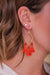 Dazzling Ember Diamond Shape Tassel Earrings - Earrings - Wight Elephant Boutique