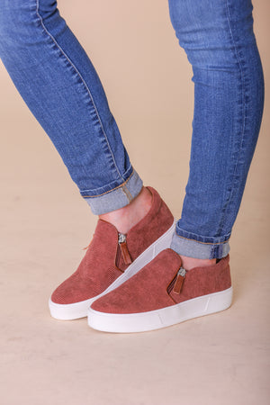 Very Volatile Billing Zipped Sneaker - Shoes - Wight Elephant Boutique