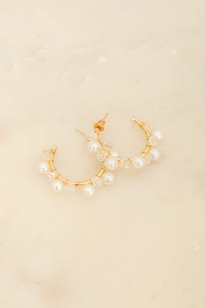 Gotta Have Hoops - Gold Pearl