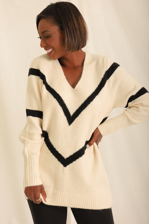 Get To The Point Knit Sweater
