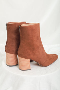 Putting My Foot Down Ankle Boot