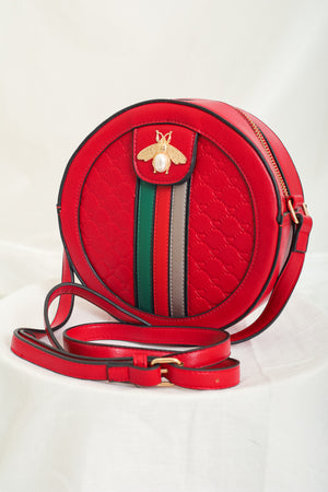 We Really Bee Loving This Bag - Red & Black