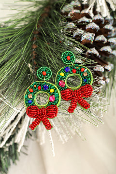 Wonderful Wreath Earrings