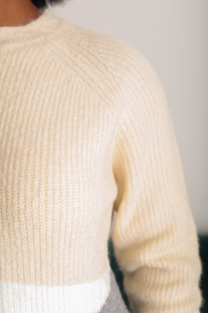 Cream and Sugar Sweater