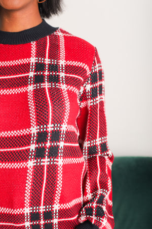Aren't You Plaid It's Christmas Sweater