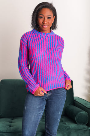 Winter Brights Sweater