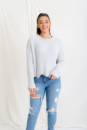 Soft Waves Chenille Sweater