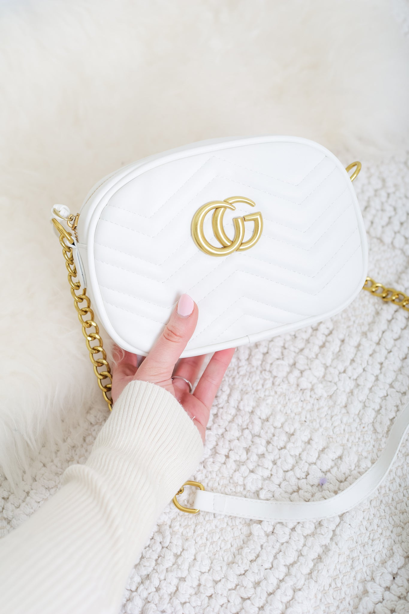 Gee We Love This Handbag - White