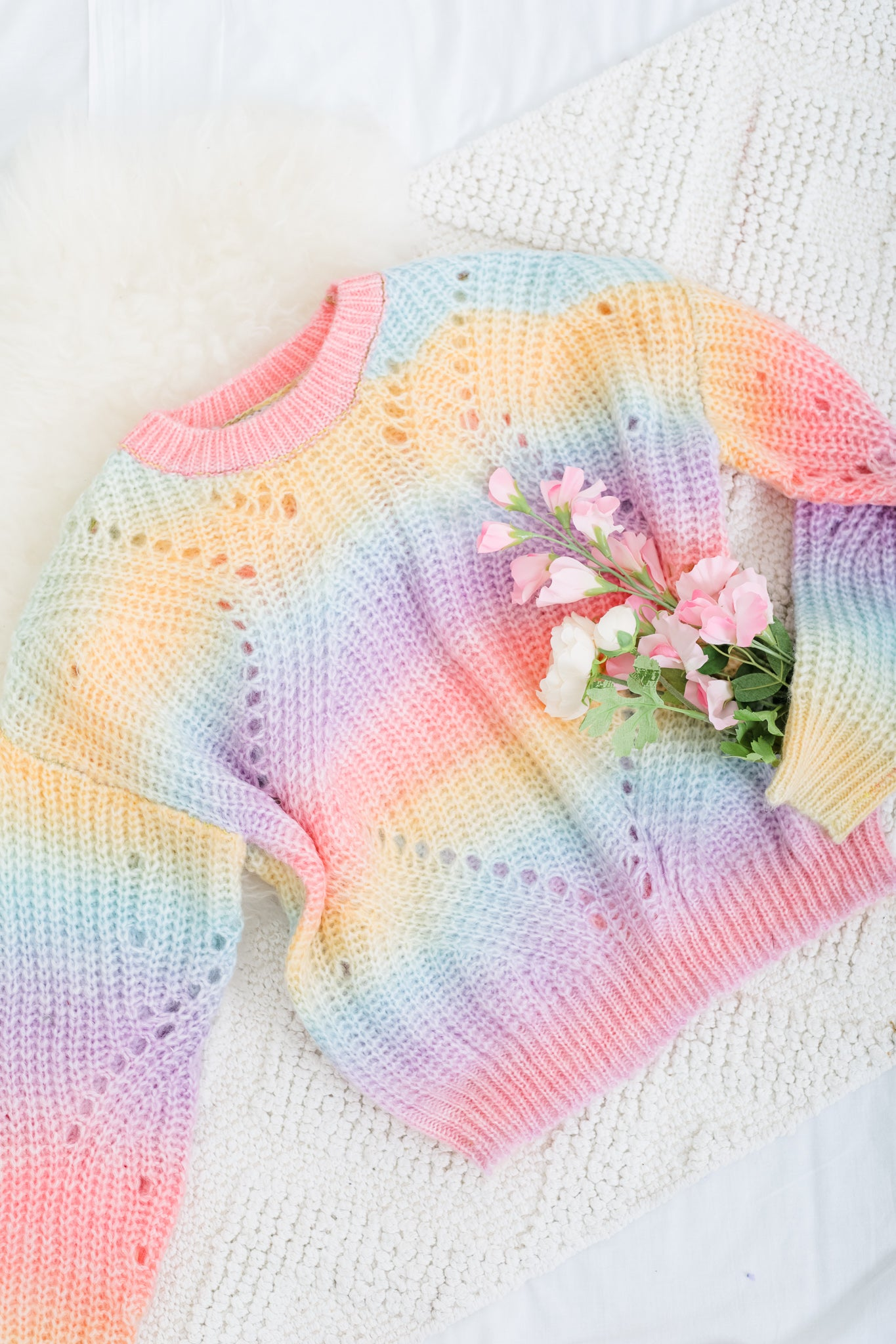 Bubble Gum Swirl Sweater
