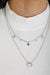 All The Best Layers Necklace - Silver