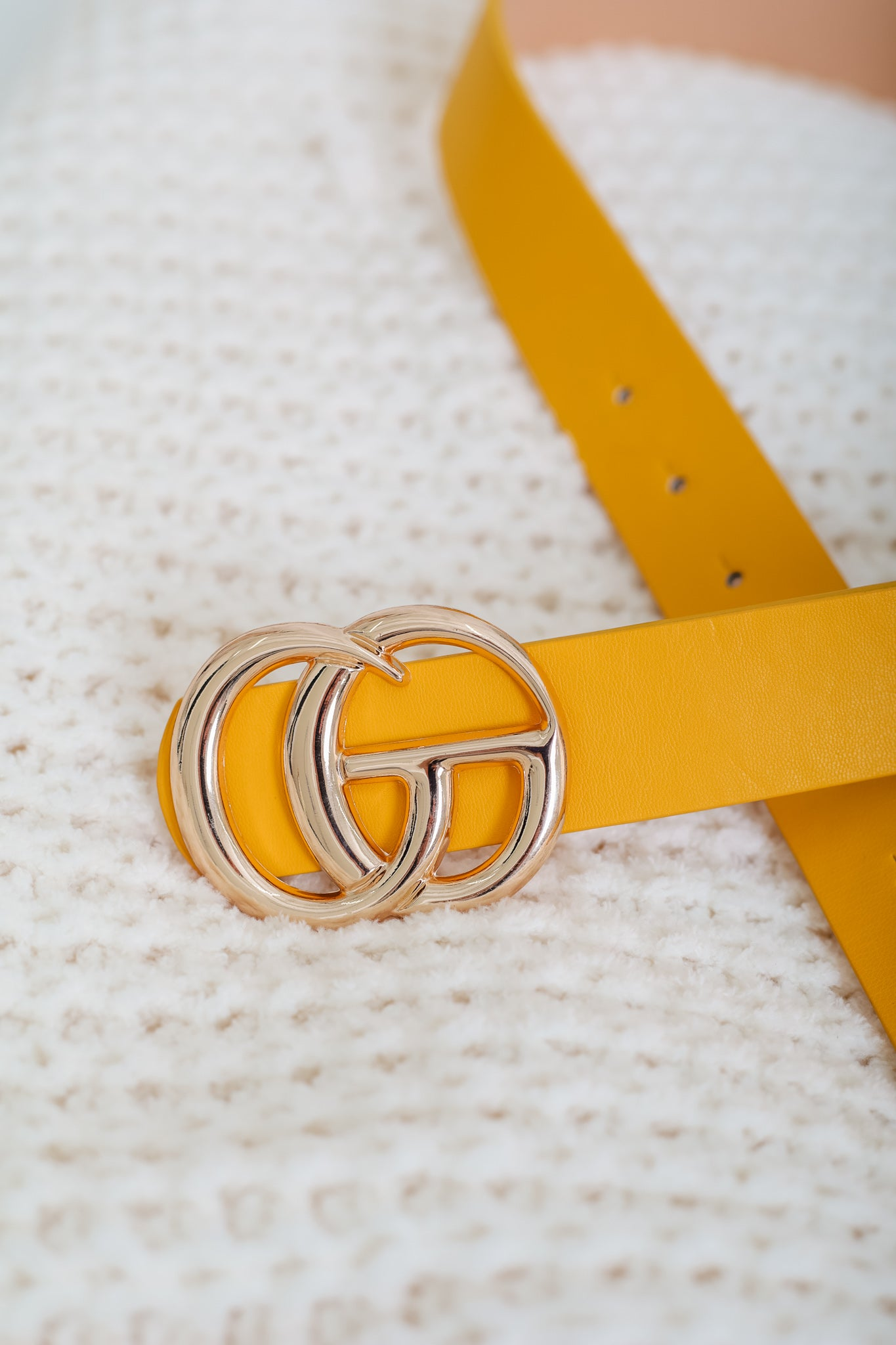 Gee We Love This Belt - Yellow