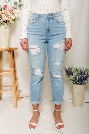 All You'll Ever Need Light Wash Denim
