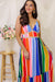 Give Us a Twirl Rainbow Maxi