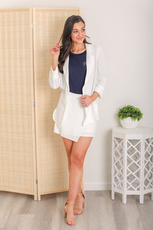 Sandy Beach Linen Jacket