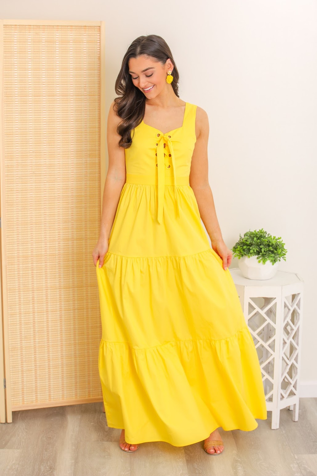 Sunny Disposition Maxi Dress