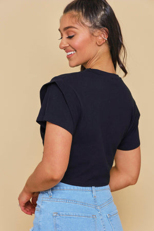 Do Knot Forget Me Top - Black